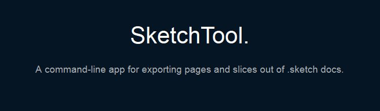SketchTool is a command-line tool for exporting pages and slices out of .sketch docs
