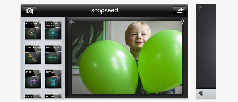 Snapseed is a free photo editing tool that offers a bunch of features and enhancement presets