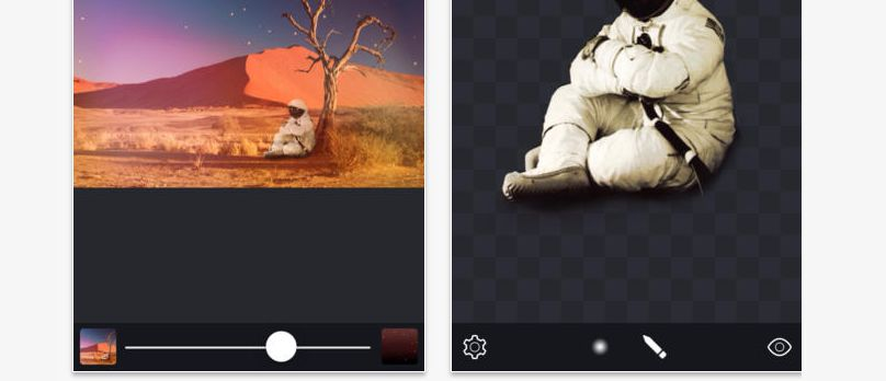 Image Blender is great iOS Photography Apps for blending two images together