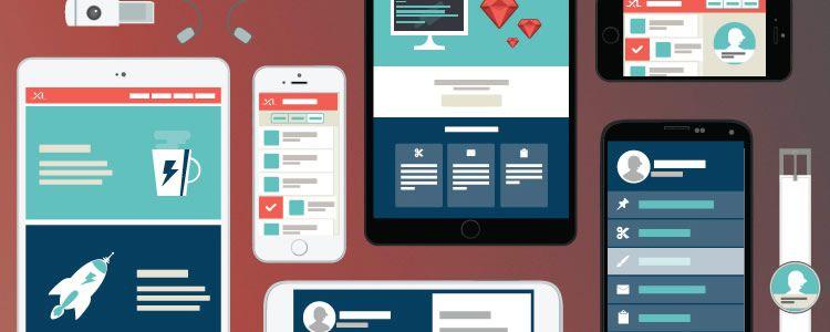 web designers freebie Flat Responsive Vector Mockup AI may