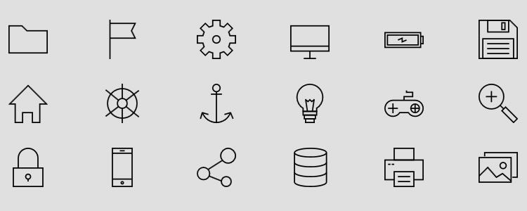 freebie for designers Linea Iconset 640 Icons PNG SVG Icon Font may