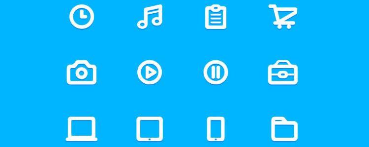 freebie for designers The TWENTY Icon Set 20 Icons AI may