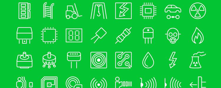 freebie for designers iOS7-Style Industrial Icons 66 Icons PSD EPS PNG SVG may