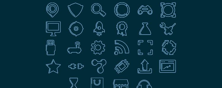 web designers free Stroke Icons 100 Icons AI PNG may