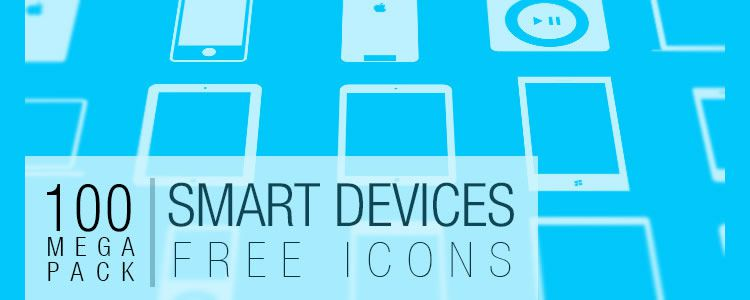 web designers freebie Smart Device Icons 100 Icons SVG PNG may