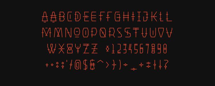 web designers free Primiterus font may