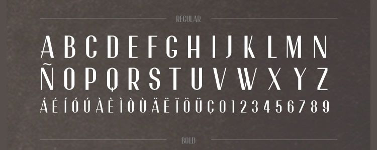 freebie for designers Garnata Display font may