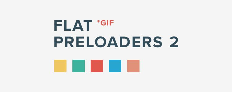 web designers free Flat Style Squared Preloaders GIF AEP PNG may