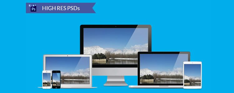 web designers free Responsive Vector Device Mockups EPS may