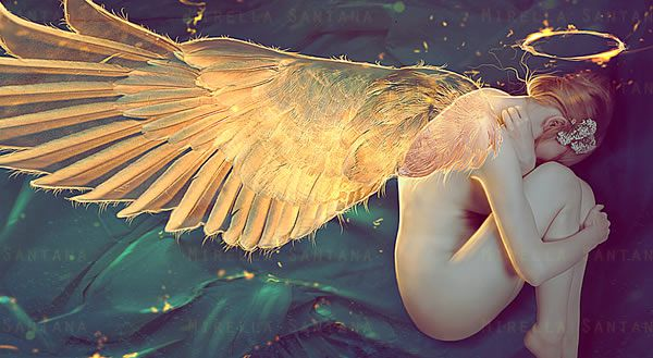 Sleep Well My Angel Photoshop Tutorial