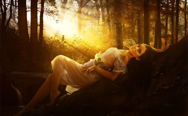 A Romantic and Warm Portrait Photo Manipulation Tutorials