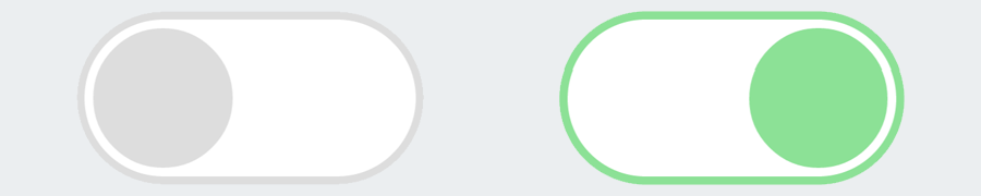 Creating Round Flat And Flip Style Css Toggle Switches