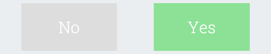 Yes/No Flip Style CSS Toggle Switch tutorial