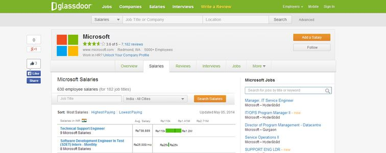 example of Bad UI and Good UX Glassdoor