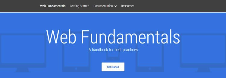 Google has released a new handbook for web designers and developers called Google Web Fundamentals