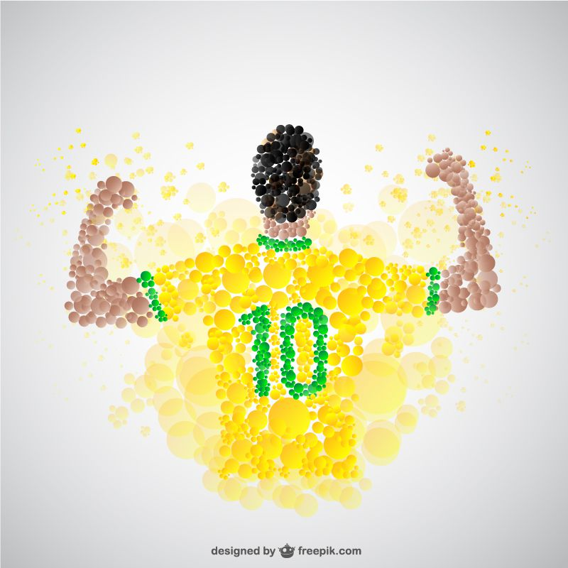 world cup football pack 3 templates dotted