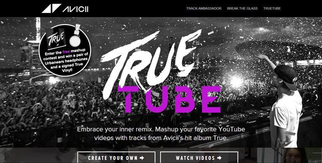 Truetu.be true infinite scrolling site