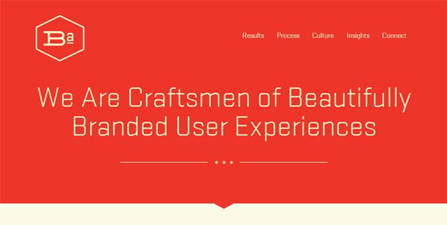The BrandAid Design Co has a very minimal site design that mostly incorporates icons