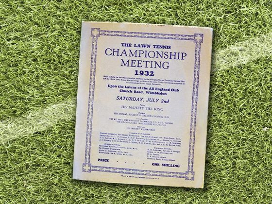 1932 the form factor of the programme is wider and stays consistent with the rest of the programmes