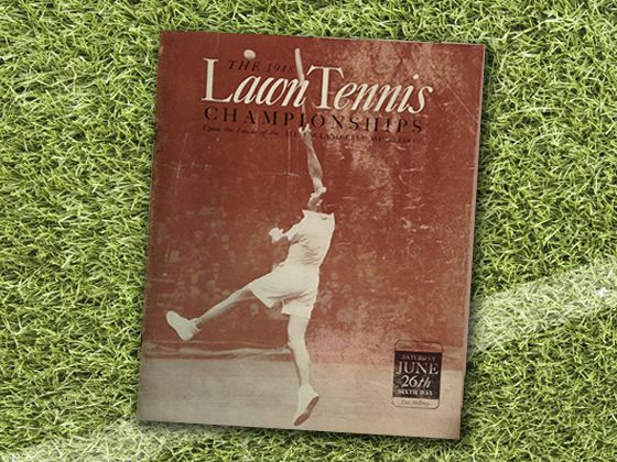 1948 the first time photography is used within the programme design