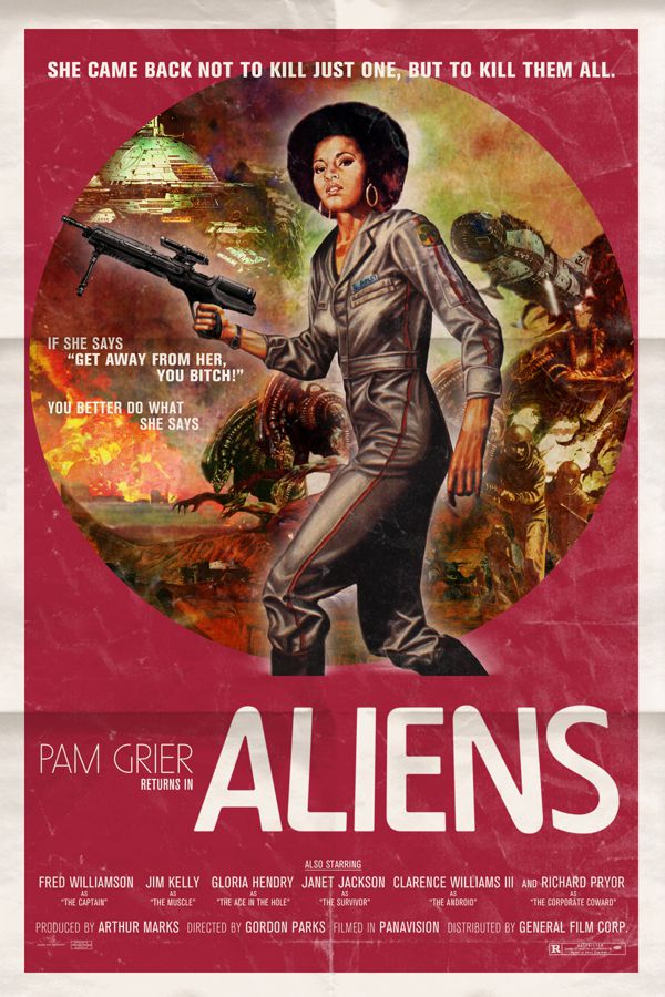 Aliens alternative movie poster Peter Stults
