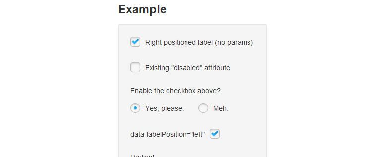 jQuery plugin replacing default checkboxes radio inputs