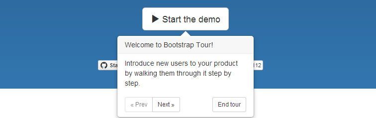 quick easy way build your product tours with Bootstrap Popovers