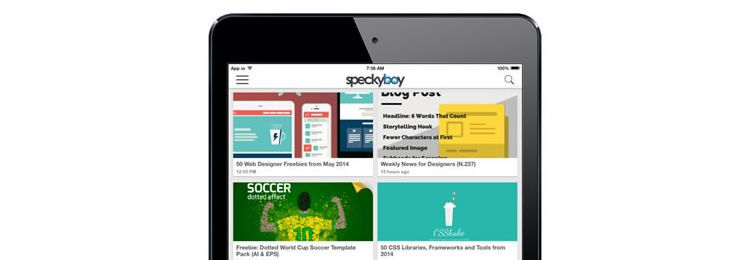 Speckyboy iOS App Updated and Android App Has Arrived