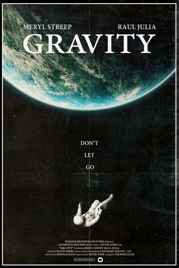 Gravity different time and place alternative movie postersr