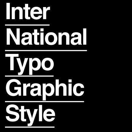 international typographic style Swiss Style The Origins and Evolution of Flat Design