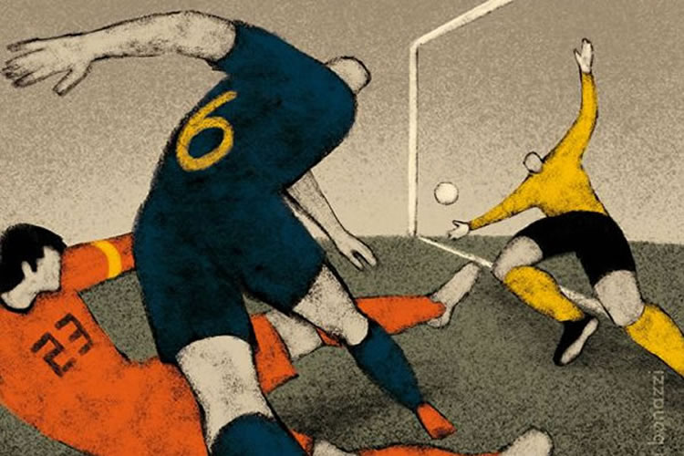 History of the World Cup Illustration Series
