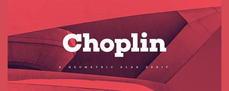 Choplin Medium ExtraLight Free Font OTF Resources for Designers