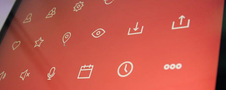 UI Mockup Icons 63 Icons