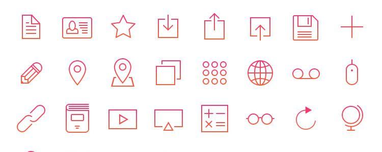 Retina Icons 120 icons PSD