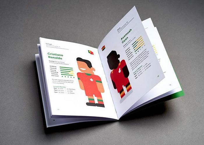 Minimal Character World Cup Illustrations