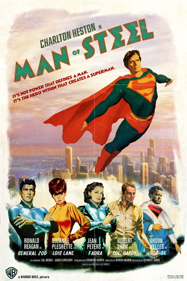 Man of Steel alternative movie poster Peter Stults