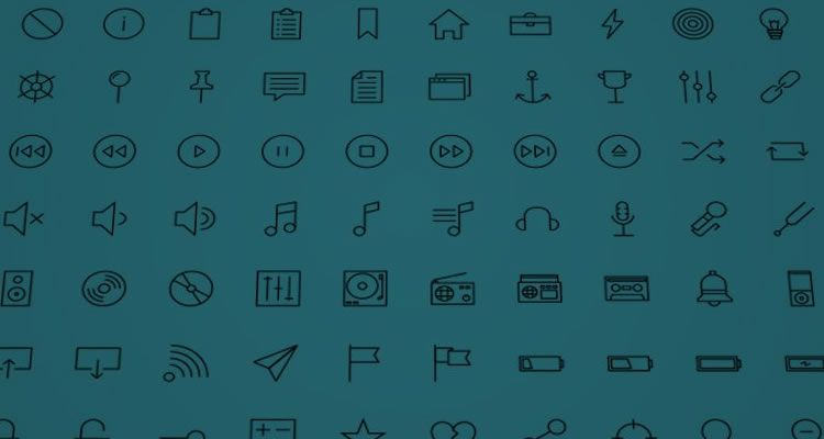 Mobile Icon Sets Linea Iconset 730+ icons SVG PNG Webfont formats free
