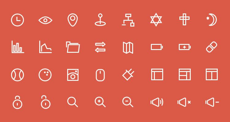 3px Icons Vector Set 80 icons AI PSD formats freebie