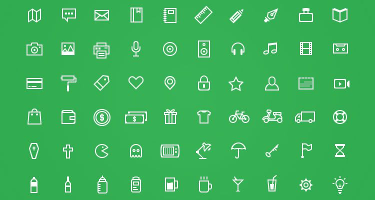 Odincons 1.0 100 icons PSD format free