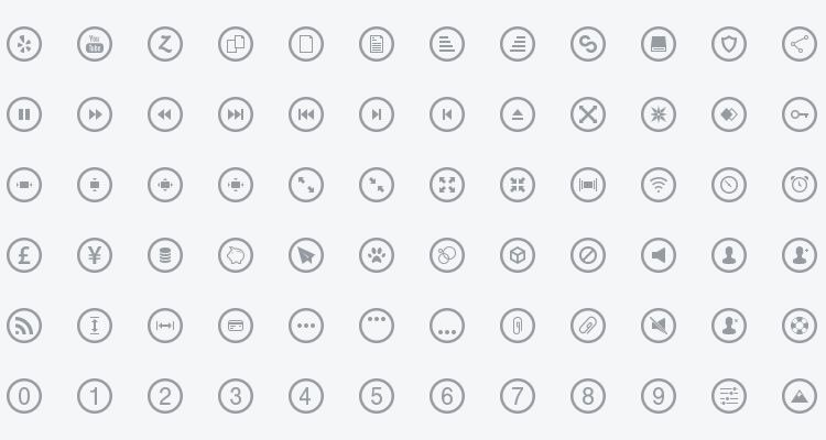 Metrize Metro-Style Icons 300 icons PSD SVG EPS AI PDF Webfont formats free
