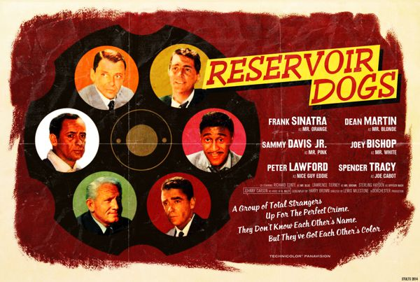 Reservoir Dogs alternative movie poster Peter Stults