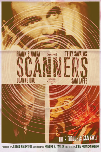 Scanners different time and place movie poster