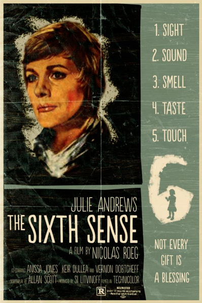 The Sixth Sense alternative movie poster Peter Stults