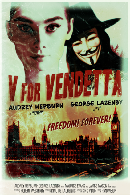 v for vendetta alternative movie poster Peter Stults