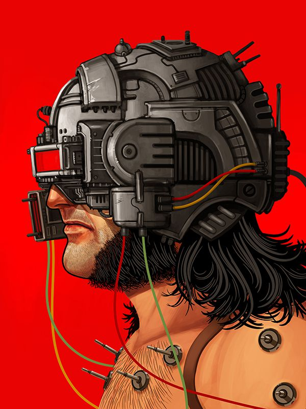 mike mitchell poster illustrated marvel superhero Weapon X