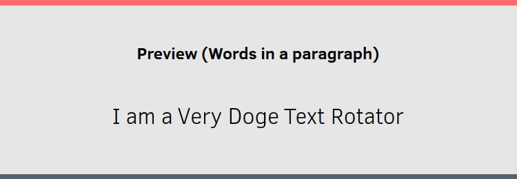 Powered by Animate.css Morphext is a simple jQuery carousel plugin for text phrases