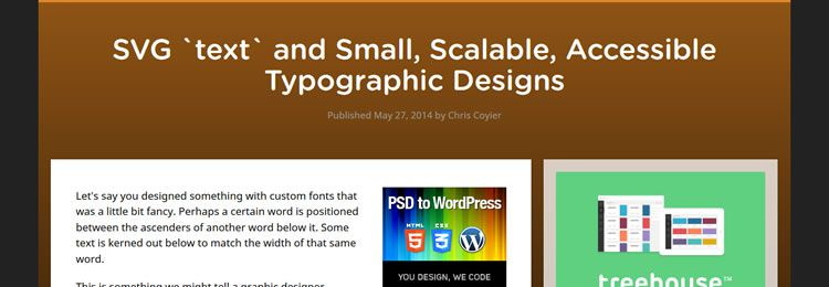 SVG text and Small, Scalable, Accessible Typographic Designs