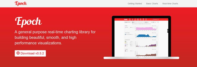 Epoch a general purpose real-time charting library for building beautiful, smooth, and high performance visualizations