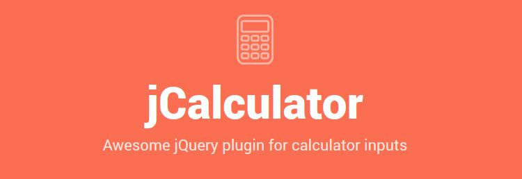jCalculator a jQuery plugin for calculator inputs