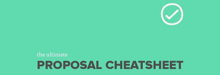 The Ultimate Proposal Cheatsheet by Nathan Powell